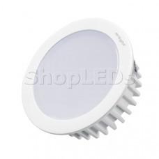 Светодиодный светильник LTM-R70WH-Frost 4.5W Warm White 110deg