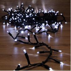 Гирлянда «Кластер» 10 м, 200 LED, черный каучук, IP67, соединяемая, цвет свечения белый NEON-NIGHT