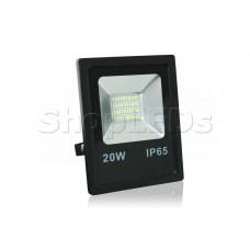 Светодиодный прожектор SMD 20W, IP65, 220V, белый