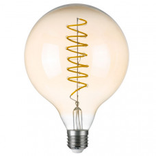 933302 Лампа LED FILAMENT 220V G125 E27 8W=80W 700LM 360G CL/AM 3000K 30000H (в комплекте)