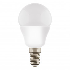 940802 ЛАМПА LED 220V G45 E14 7W=65W 350LM 180G FR 2800K 20000H (в комплекте)