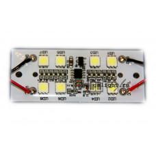 Светодиодный стробоскоп SMD 5050 8 Led F 12V IP65 Blue
