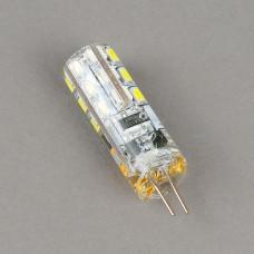 G4-12V-3W-3000K Лампа LED (силикон)