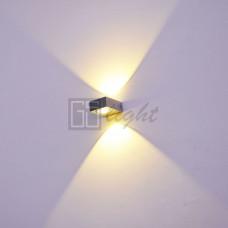 Светодиодный светильник БРА GW-A516/2 6W WW Black